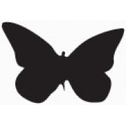 Flatboard Chalk Board Butterfly