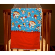 Pram/Cot Blanket Rocket Rascals Also available in over 40 fabric designs