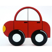 Wooden Block Freestanding car