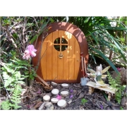 Fairy / Gnome Door (Rounded Shape) Suitable for outdoors Magical outdoor fairy doors to capture your child's imagination
