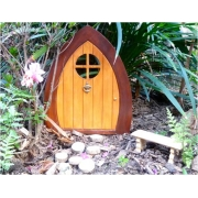 Fairy / Gnome Door (Pointed Shape) Suitable for outdoors Magical outdoor fairy doors to capture your child's imagination