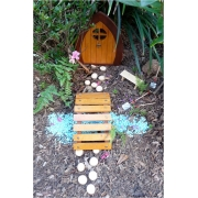 Fairy / Gnome Door/Bridge/Window/Stepping Stones SET (Suitable for outdoors) Magical outdoor set to capture your child's imagination