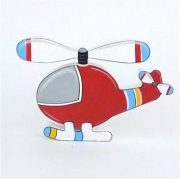 Wooden Block Freestanding helicopter