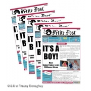 #1 seller - The Petite Post� - minis (14.8cms x 21cms) The perfect birth announcement