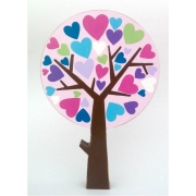 Wooden Block Freestanding tree