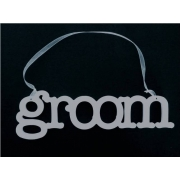 Wedding Sign / Hanger GROOM
