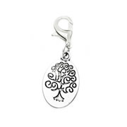 Whimsy Tree of Life Dangle for Floating Memory Locket