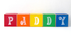 .Wooden Blocks - Personalised for kids BLOCKS for child - BOYS (LARGE) choose your colours, motifs and name