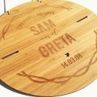 wedding products in Natural Timber / Bamboo Wood Personalised Products
